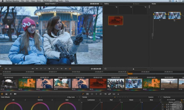 达芬奇DaVinci Resolve9.0第四季高级创意调色视频教程